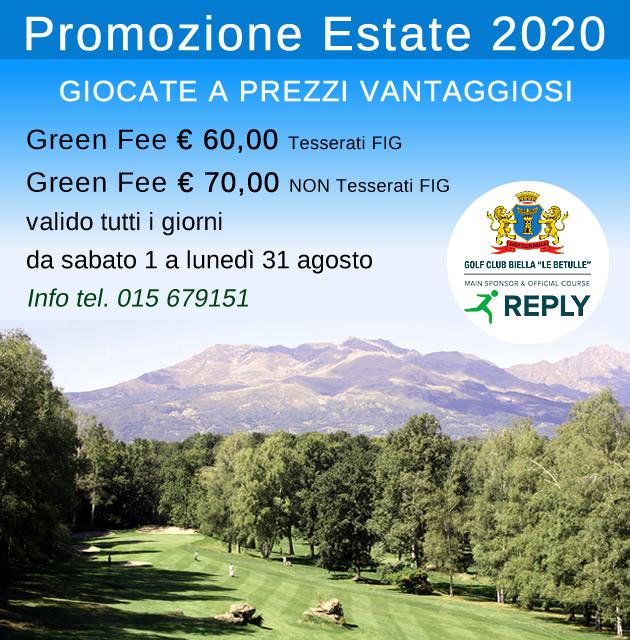 promozione estate 2020